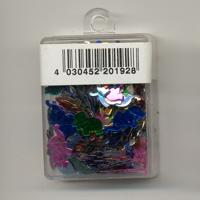 Sequins, elephants, mixed colours - 12mm