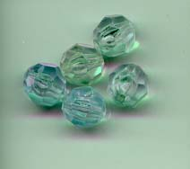 Plastic and acrylic beads