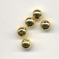Round Pearls - 6mm - Gold