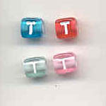 Transparent cubes - 6mm