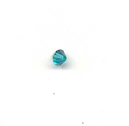 Swarovski 5301, 4mm, Blue Zircon
