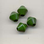 Wooden bicone beads - 8mm