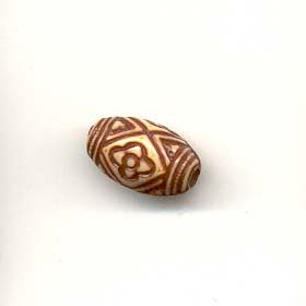 Bone finish beads