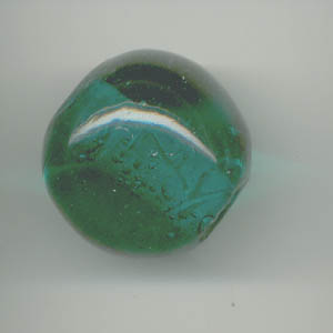 Large spherical glass beads