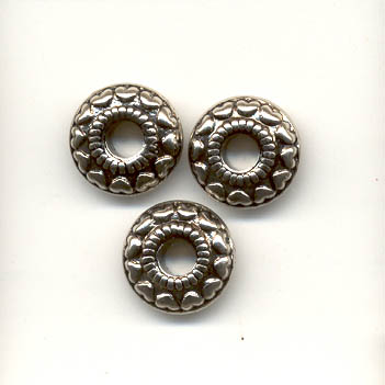 Antique Silver Tyre Bead