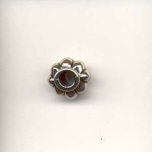 Antique Silver flower Bead