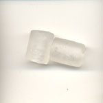 11X9mm  frosted  kiln tube - Clear