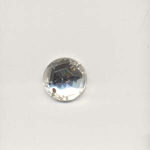 Round glass stones - 11mm