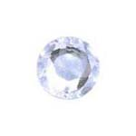 Stick-On Acrylic stones - 7mm round, crystal