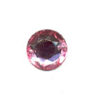 Sew-on acrylic stones - 18mm Round - Light Rose