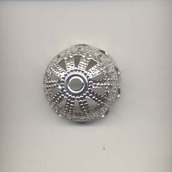 Bell Cap - Silver coloured