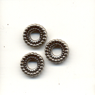 Spacer bead - Silver coloured