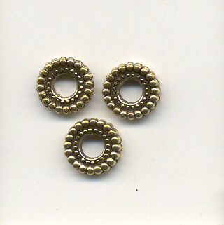 Spacer bead - Gold coloured