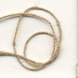 Natural Hemp Twine - Medium