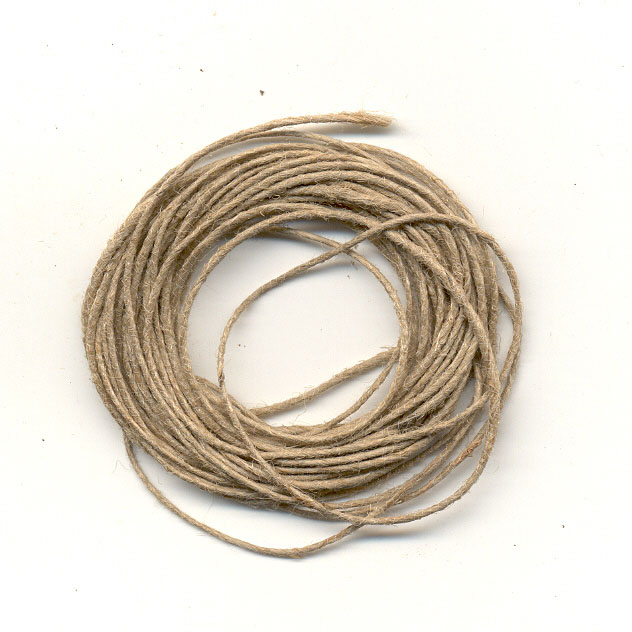 Natural Hemp Twine - Thin