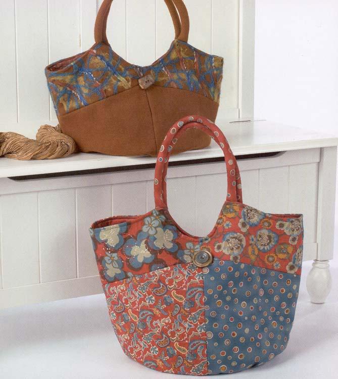 Pattern For Fabric Shoulder Bag 76