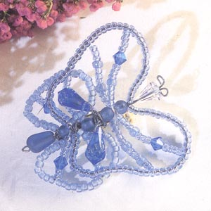 Beaded Bug - Betty Butterfly