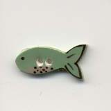 Mill Hill buttons - fish